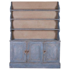 English Painted Bookcase