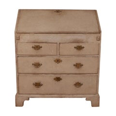 English Painted Bureau