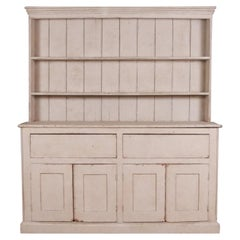 English Painted Country Dresser