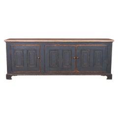 English Painted Dresser Base