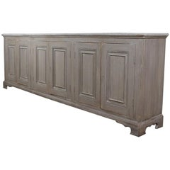 English Painted Dresser Base / Sideboard