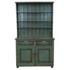 English Painted Welsh Dresser