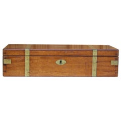 English Pathologist Box Made of Mahogany with Brass, Including Instruments