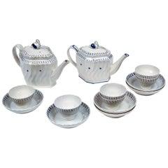 English Pearlware Tea Set, Early 19th Century