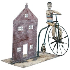 English Penny Farthing Whirligig
