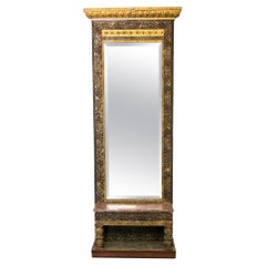 English Pier Mirror with Stand
