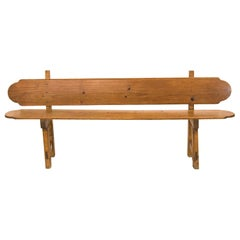 English Pine Bench
