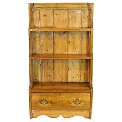 English Pine Book Shelf