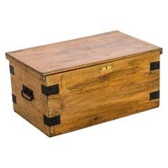 English Pine Box/Blanket Chest