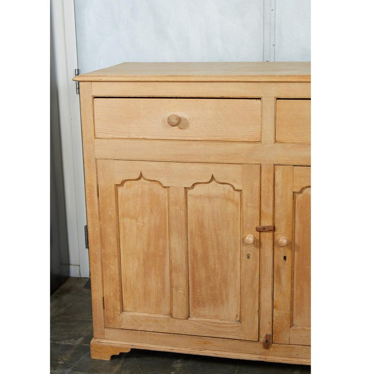 Country English Pine Cabinet or Cupboard For Sale