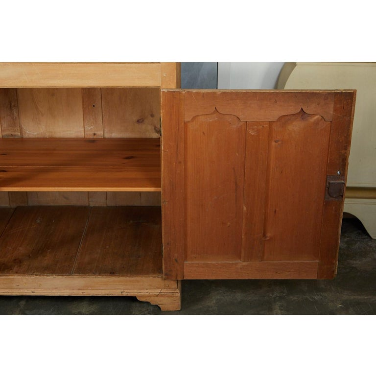 English Pine Cabinet or Cupboard For Sale 2