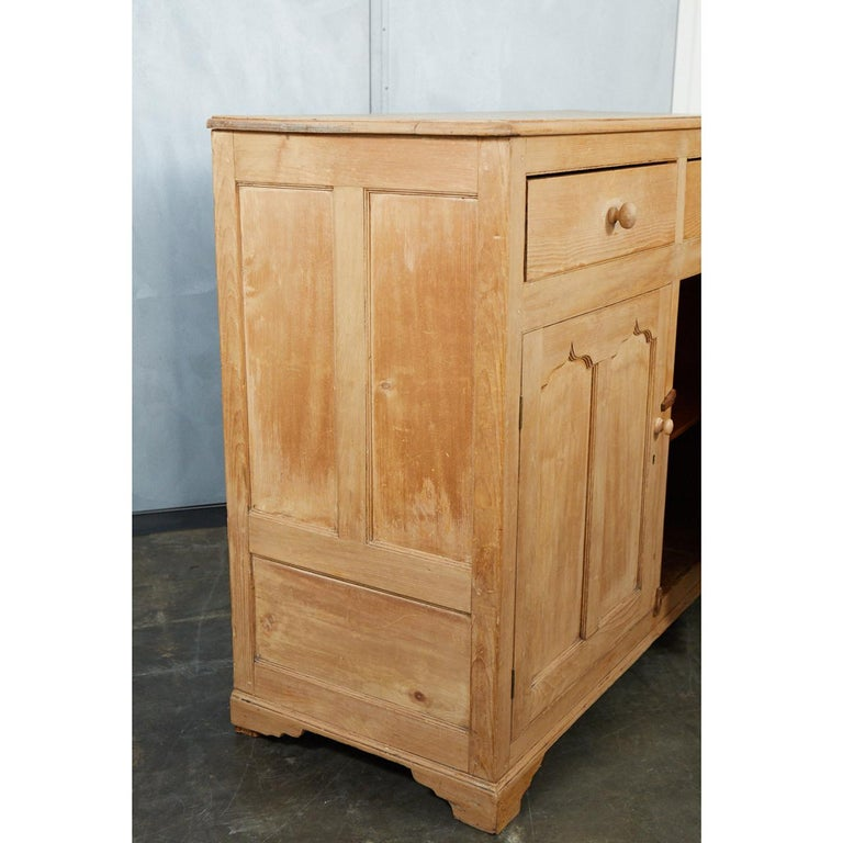 English Pine Cabinet or Cupboard For Sale 3