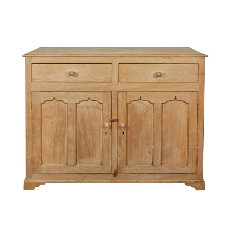 English Pine Cabinet or Cupboard For Sale