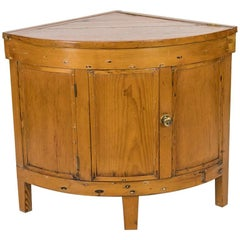 English Pine Corner Washstand