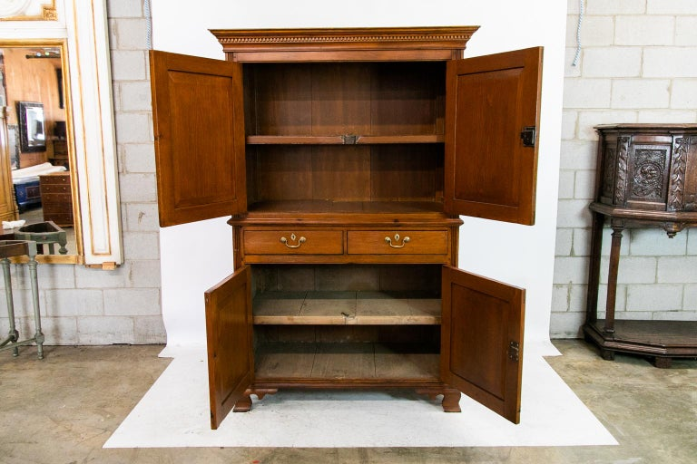 English Pine Cupboard For Sale 2