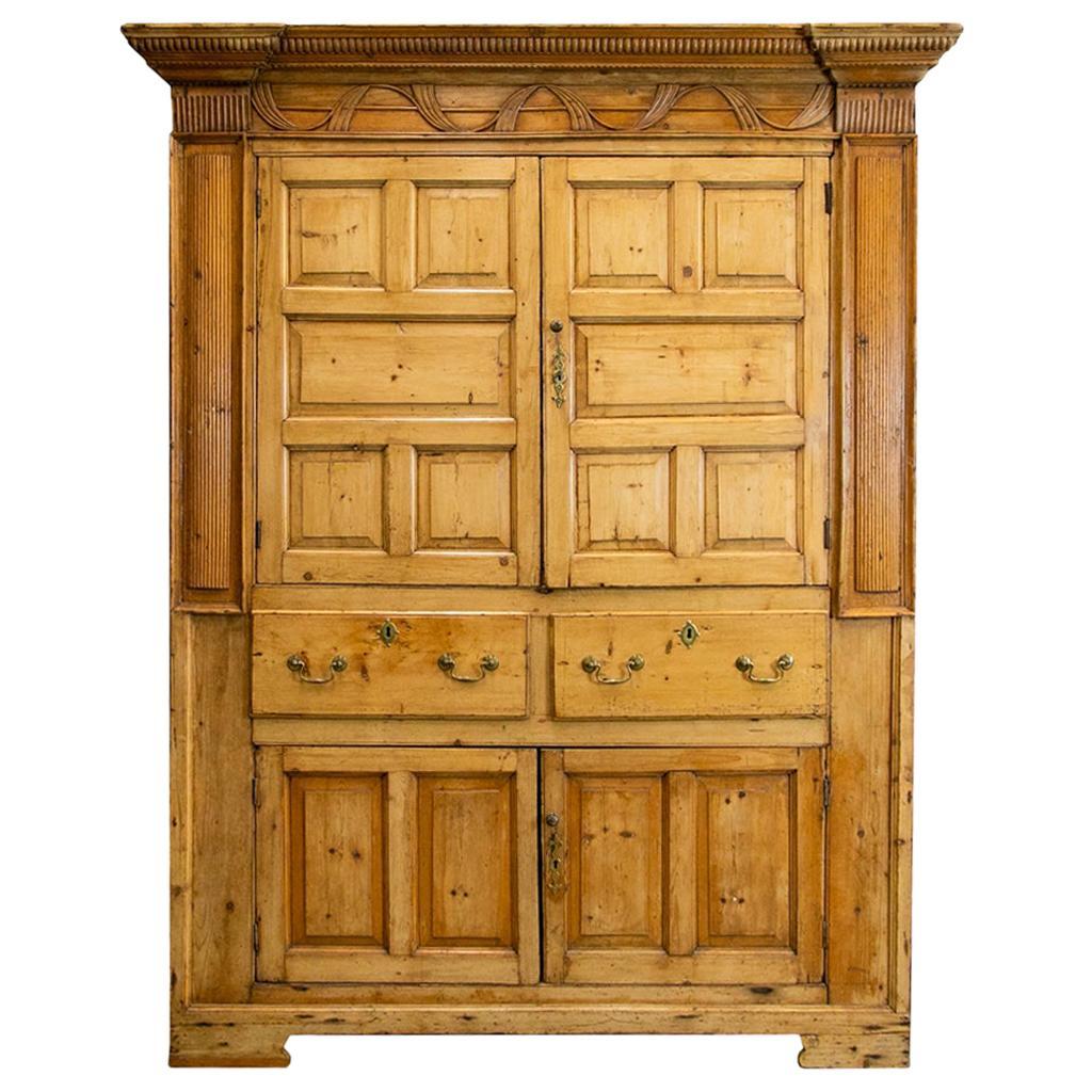 English Pine Cupboard