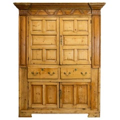 English Pine Cupboard