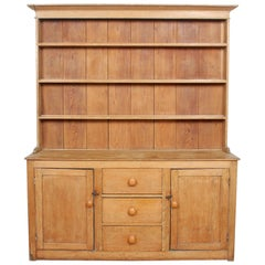 English Pine Dresser 19th Century Kitchen Welsh Dresser