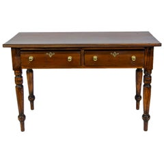 English Pine Drop-Leaf Table