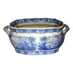 English Porcelain Cachepot