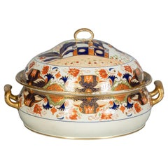 English Porcelain Palatial Tureen, Wedgwood, circa 1820