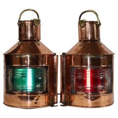 English Port and Starboard Lanterns