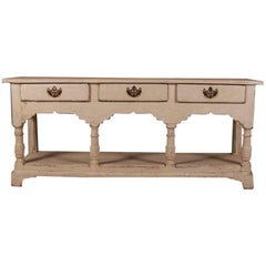 English Potboard Dresser Base / Sideboard