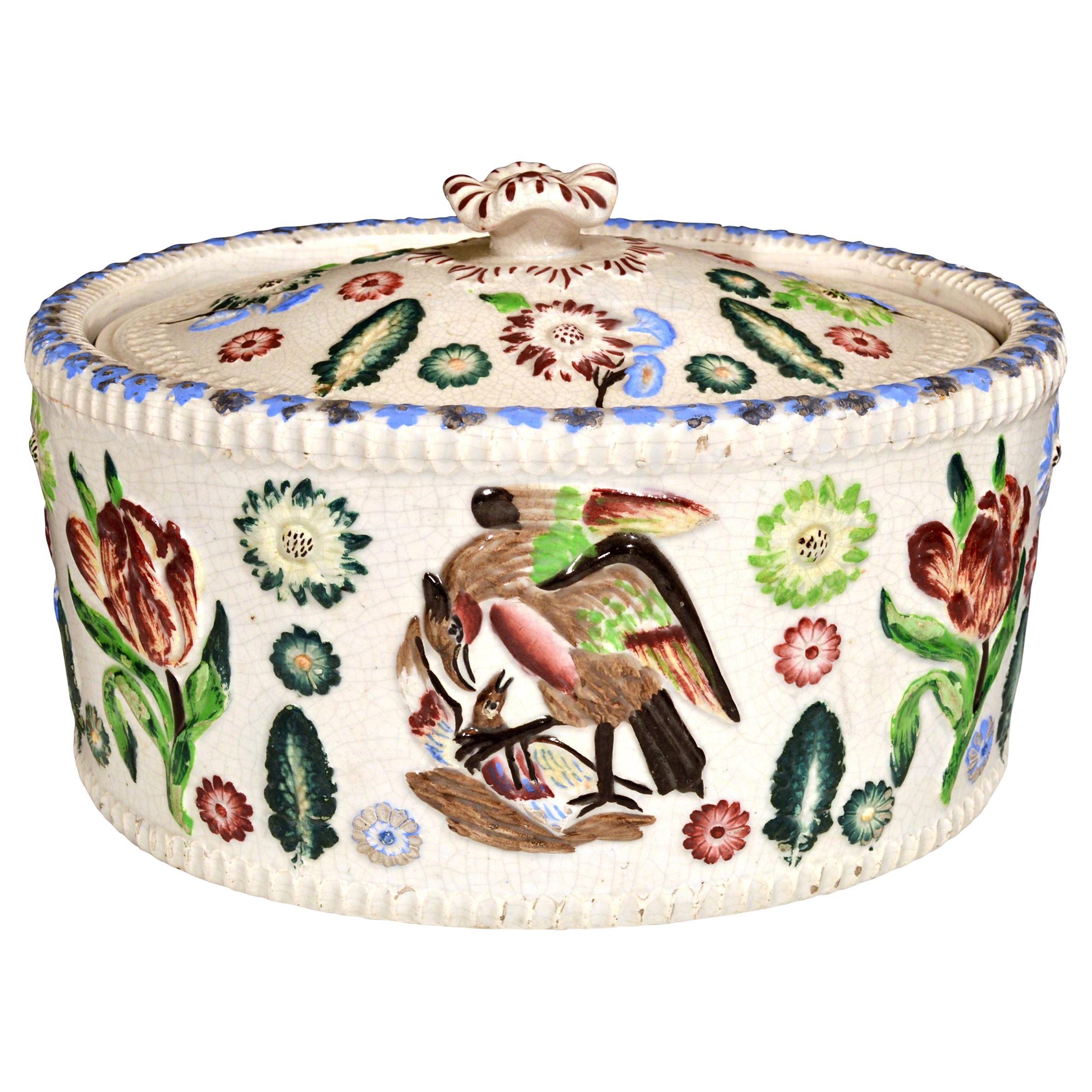 English Pottery Game Tureen, 19th Century