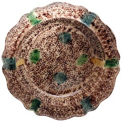 English Pottery Tortoiseshell Dish Probably Thomas Whieldon Mid-18th Century