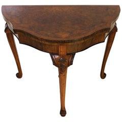 Queen Anne Kartentische und Tee-Tische