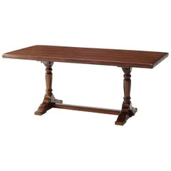 English Refectory Dining Table