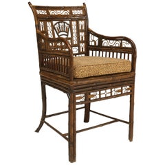English Regency Bamboo Armchair