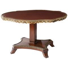 English Regency Center Table