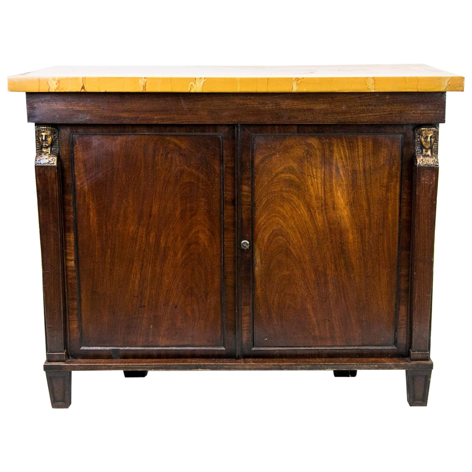 English Regency Console Cabinet