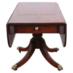 English Regency Drop-Leaf Table, circa 1830