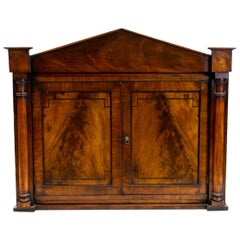 English Regency Hanging Cabinet