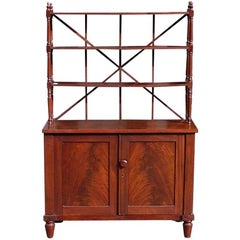 English Regency Mahogany Bookcase