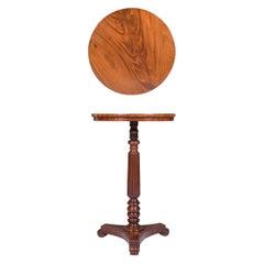 English Regency Mahogany Circular Table by Gillows of Lancaster and London