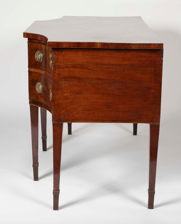 English Regency Mahogany Sideboard For Sale 6