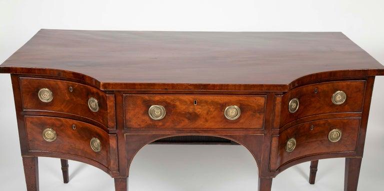 English Regency Mahogany Sideboard For Sale 3