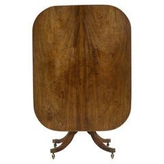 English Regency Mahogany Tilt-Top Breakfast Table