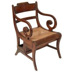 English Regency Metamorphic Armchair