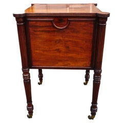 English Regency Period Mahogany Cellarette in the Manner of Gillows