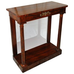 English Regency Period Pier Table of Small Proportions in Rosewood