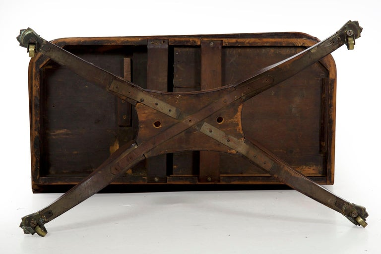English Regency Rosewood Antique Games Card Table, circa 1815 For Sale 15
