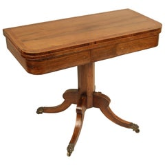 English Regency Rosewood Games Table