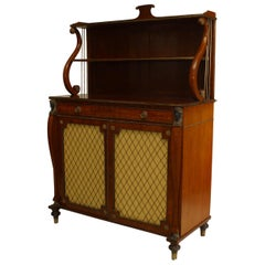 English Regency Rosewood Secretaire