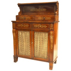 English Regency Small Sideboard Cabinet