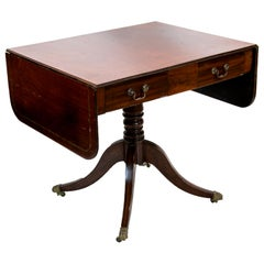 English Regency Sofa Table