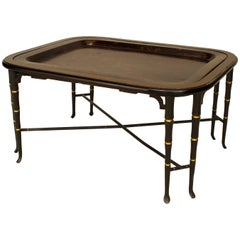 English Regency Style '19th-20th Century' Tray Top Coffee Table